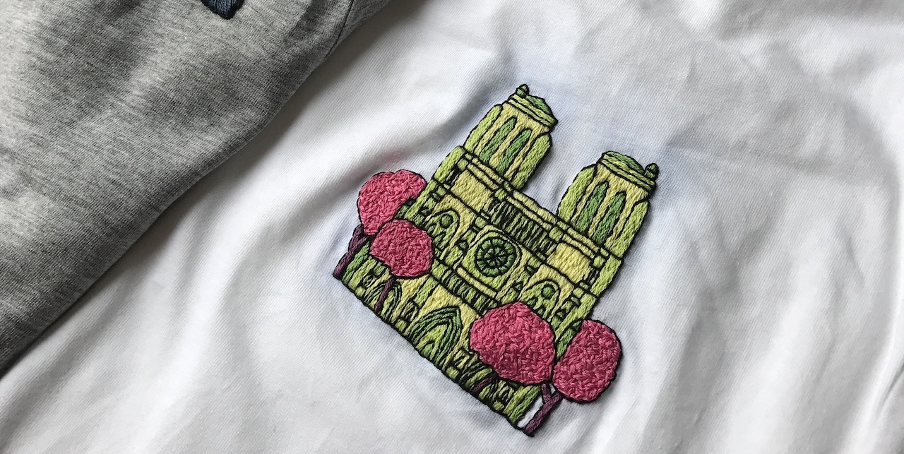 Online course Upcycling with Embroidery